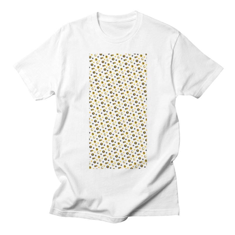 RM - Wicked Clown Louis Vuitton - White Men's T-Shirt by BIZ SHAW