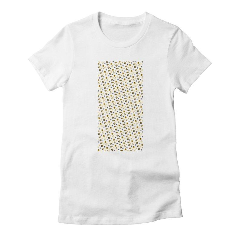 RM - Wicked Clown Louis Vuitton - White Women's T-Shirt by BIZ SHAW
