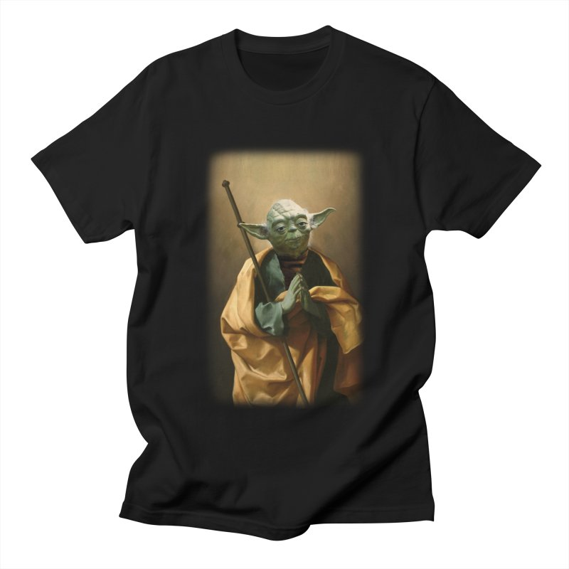 Saint Yoda Men's T-Shirt by BIZ SHAW