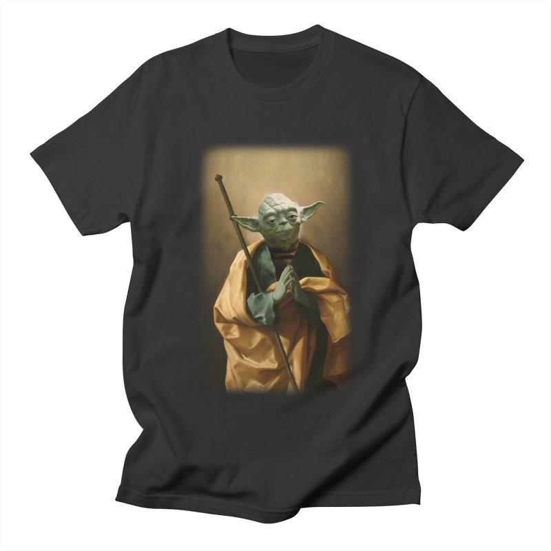 Saint Yoda Men's T-Shirt by BIZ SHAW