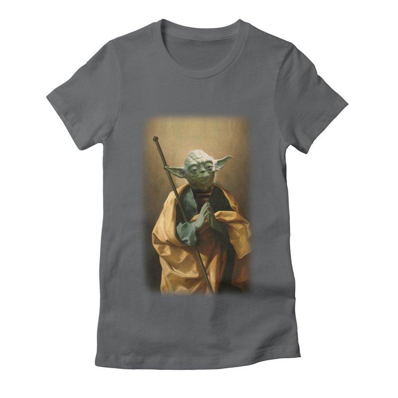 Saint Yoda Women's T-Shirt by BIZ SHAW