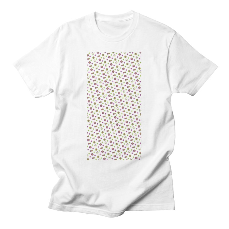 RB - Wicked Clown Louis Vuitton - White Men's T-Shirt by BIZ SHAW