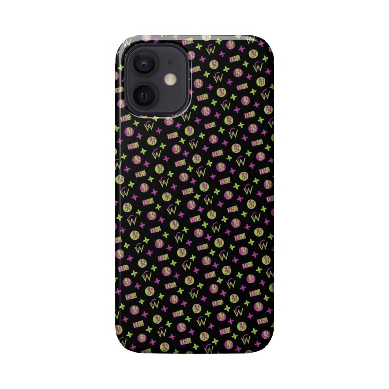 RB - Wicked Clown Louis Vuitton - Black Accessories Phone Case by BIZ SHAW