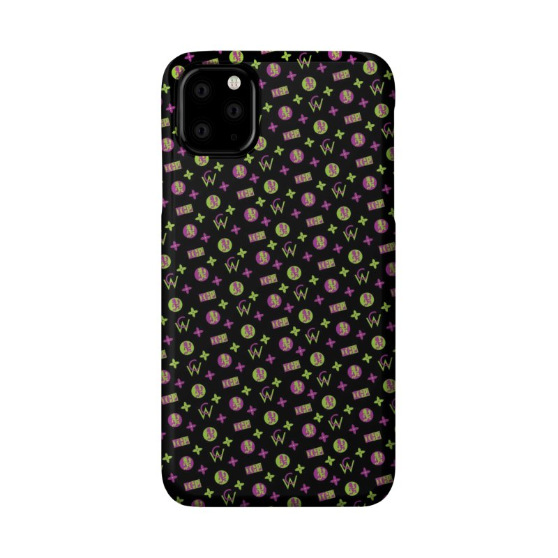 RB - Wicked Clown Louis Vuitton - Black Accessories Phone Case by BIZ SHAW