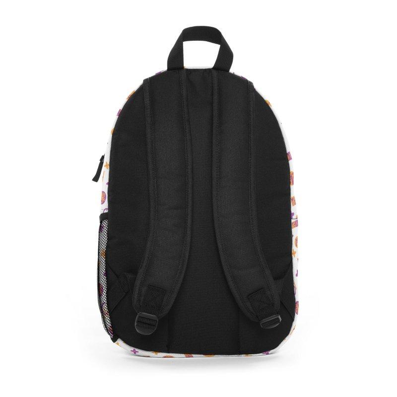 GM - Wicked Clown Vuitton - White Accessories Bag by BIZ SHAW