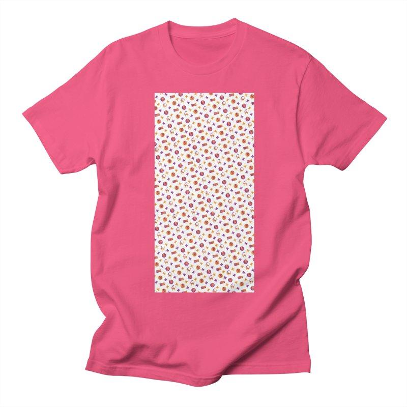 GM - Wicked Clown Vuitton - White Men's T-Shirt by BIZ SHAW