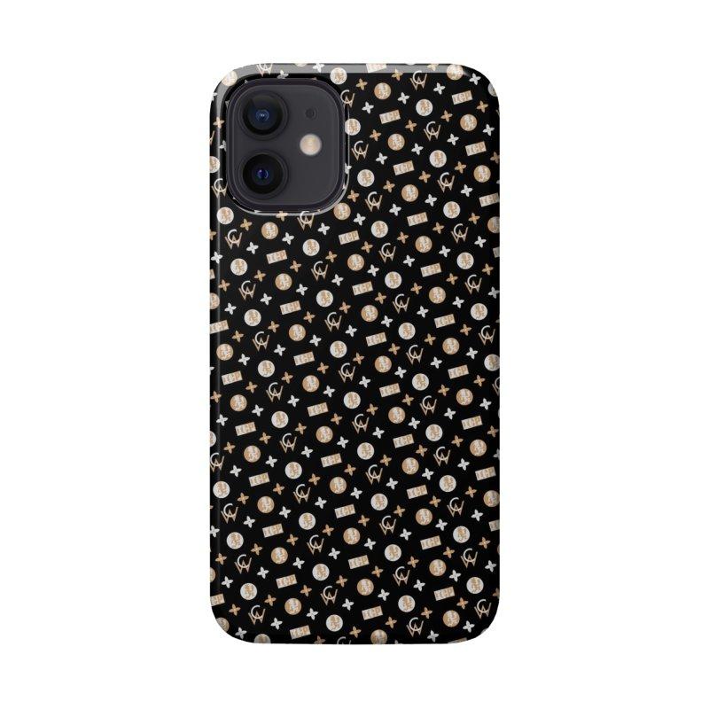 GM - Wicked Clown Vuitton - Black Accessories Phone Case by BIZ SHAW