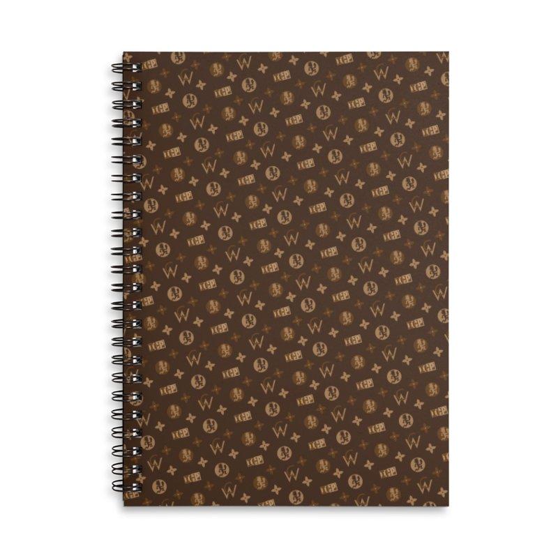LV Hatchet Accessories Notebook by BIZ SHAW