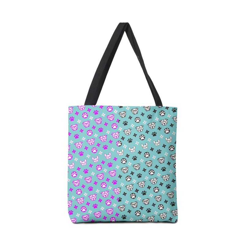 Kiki Puppy Vuitton - Split Color Accessories Bag by BIZ SHAW