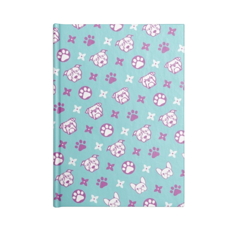 Kiki Puppy Vuitton - Color Accessories Notebook by BIZ SHAW