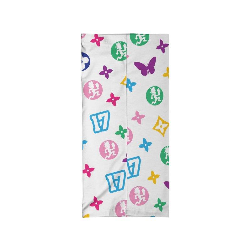 Wicked Vuitton - Rainbow Accessories Neck Gaiter by BIZ SHAW