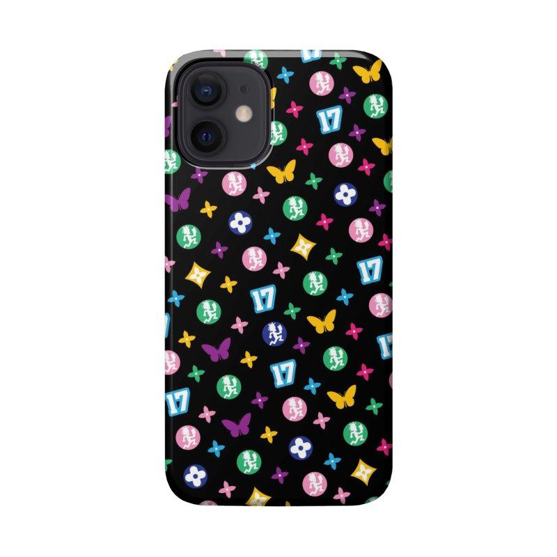 Wicked Vuitton Rainbow on Black Accessories Phone Case by BIZ SHAW