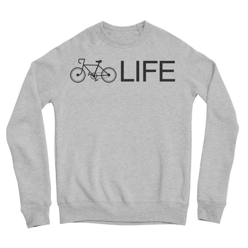 Bike Life Men's Sweatshirt by BIZ SHAW