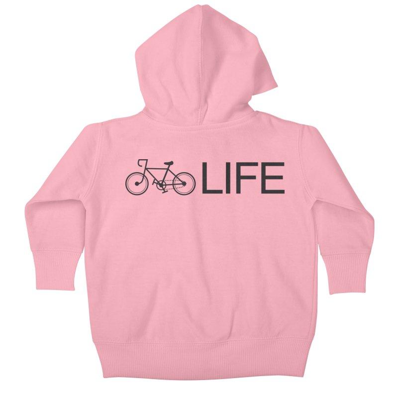 Bike Life Kids Baby Zip-Up Hoody by BIZ SHAW