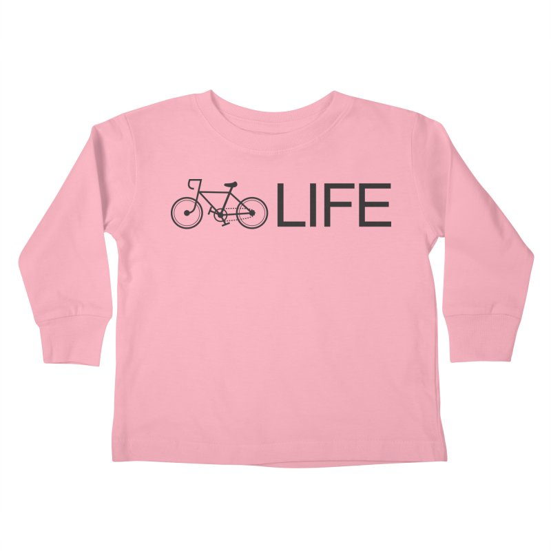 Bike Life Kids Toddler Longsleeve T-Shirt by BIZ SHAW