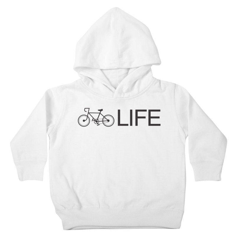 Bike Life Kids Toddler T-Shirt by BIZ SHAW