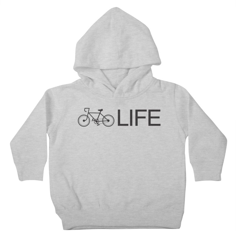 Bike Life Kids Toddler Pullover Hoody by BIZ SHAW