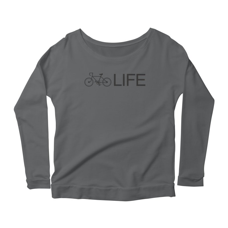 Bike Life Women's Longsleeve T-Shirt by BIZ SHAW