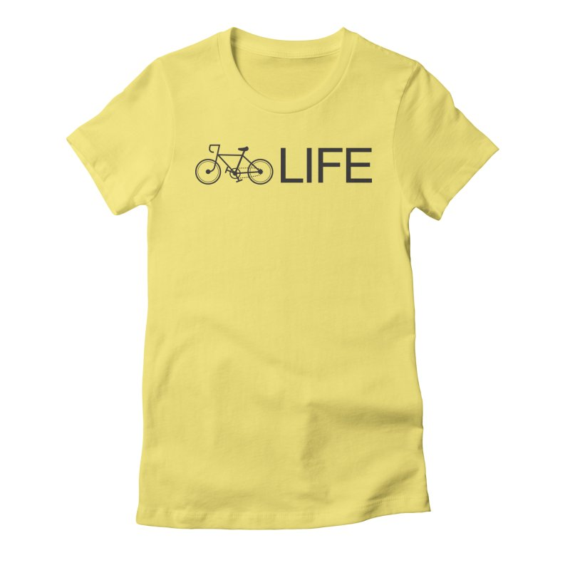 Bike Life Women's T-Shirt by BIZ SHAW
