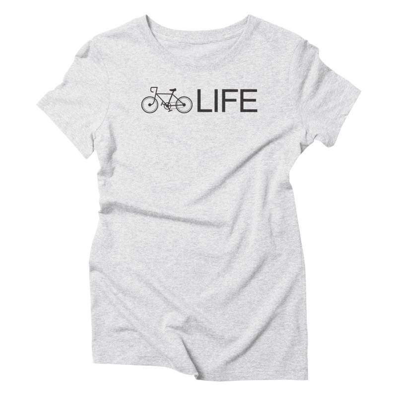 Bike Life Women's T-Shirt by BIZ SHAW