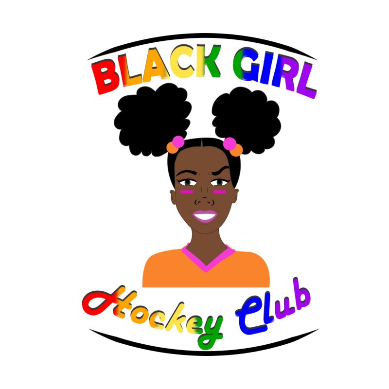 BGHC Pride logo Men's T-Shirt by Black Girl Hockey Club's Artist Shop