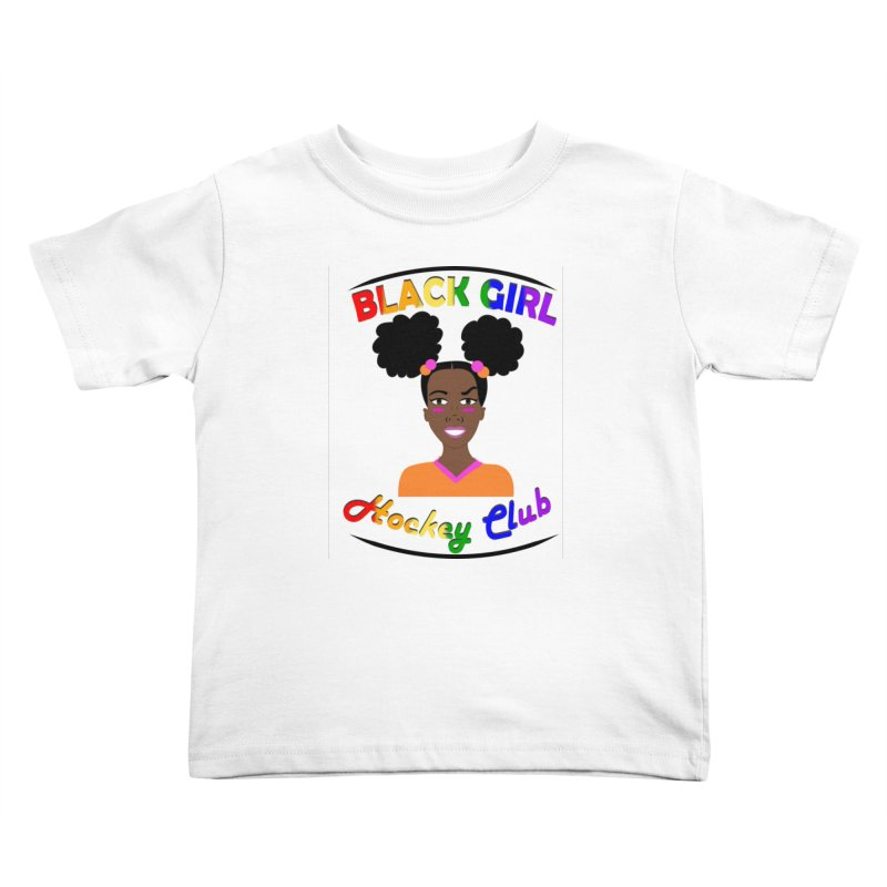 BGHC Pride logo Kids Toddler T-Shirt by Black Girl Hockey Club's Artist Shop