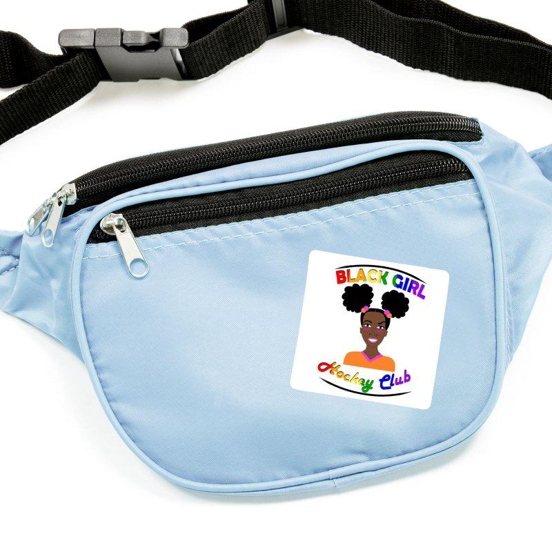 BGHC Pride logo Accessories Sticker by Black Girl Hockey Club's Artist Shop