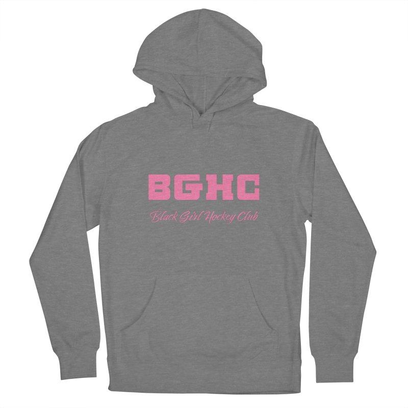 2020 BGHC Logo Text Women's Pullover Hoody by Black Girl Hockey Club's Artist Shop