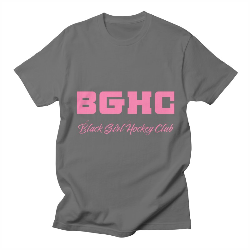 2020 BGHC Logo Text Men's T-Shirt by Black Girl Hockey Club's Artist Shop