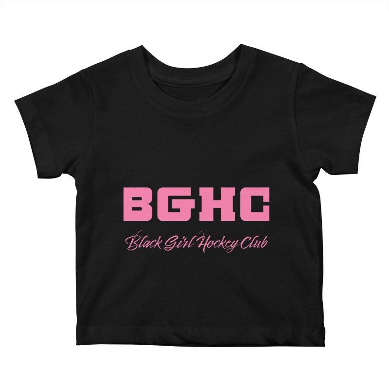 2020 BGHC Logo Text Kids Baby T-Shirt by Black Girl Hockey Club's Artist Shop