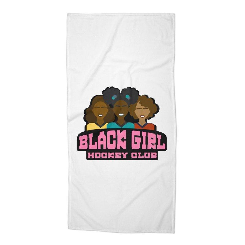 2020 BGHC Logo Accessories Beach Towel by Black Girl Hockey Club's Artist Shop