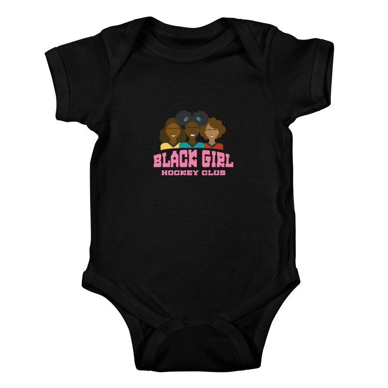 2020 BGHC Logo Kids Baby Bodysuit by Black Girl Hockey Club's Artist Shop