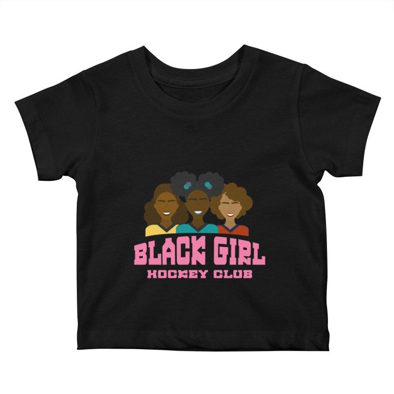 2020 BGHC Logo Kids Baby T-Shirt by Black Girl Hockey Club's Artist Shop