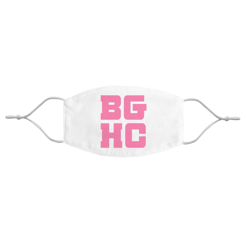 2020 BGHC abbreviated logo Accessories Face Mask by Black Girl Hockey Club's Artist Shop
