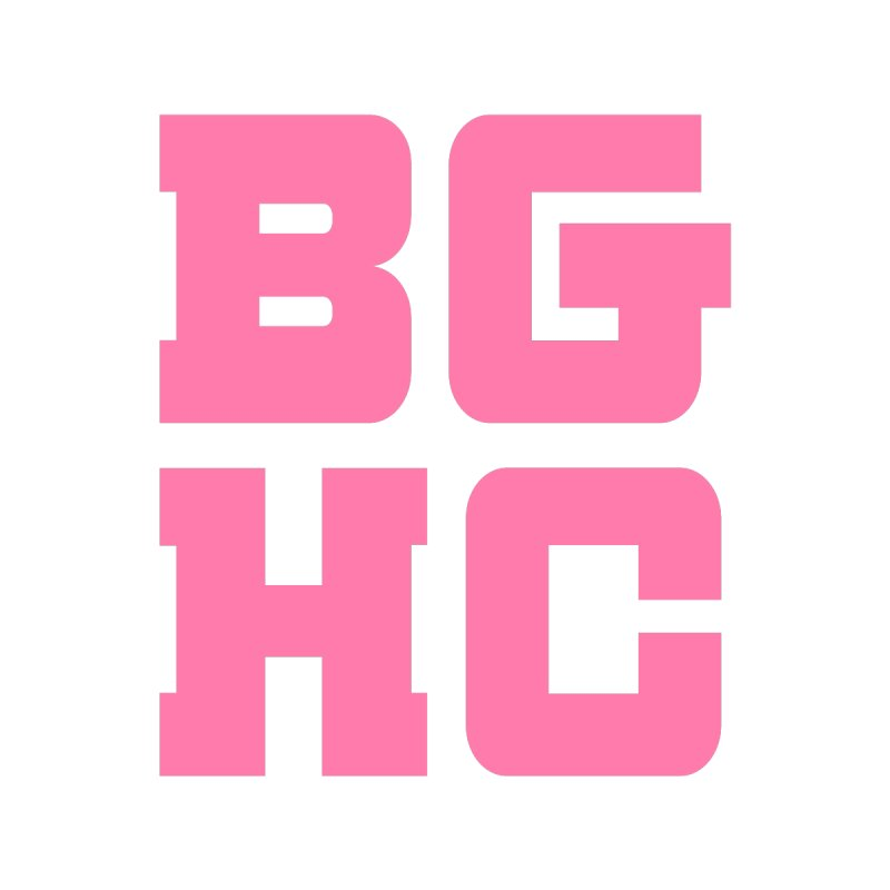 2020 BGHC abbreviated logo Kids Toddler Pullover Hoody by Black Girl Hockey Club's Artist Shop