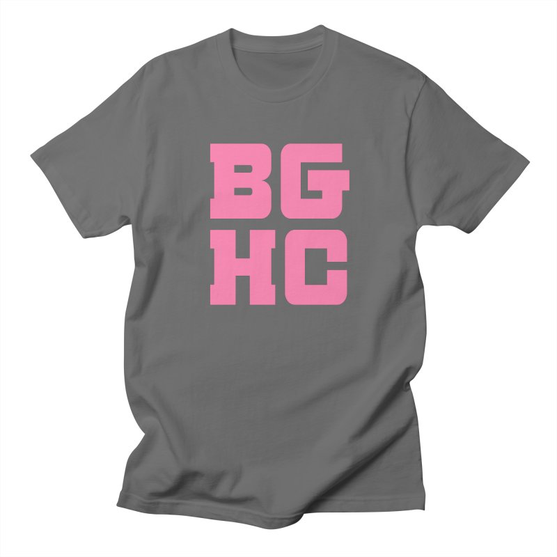2020 BGHC abbreviated logo Men's T-Shirt by Black Girl Hockey Club's Artist Shop