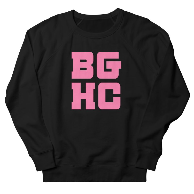 2020 BGHC abbreviated logo Men's Sweatshirt by Black Girl Hockey Club's Artist Shop