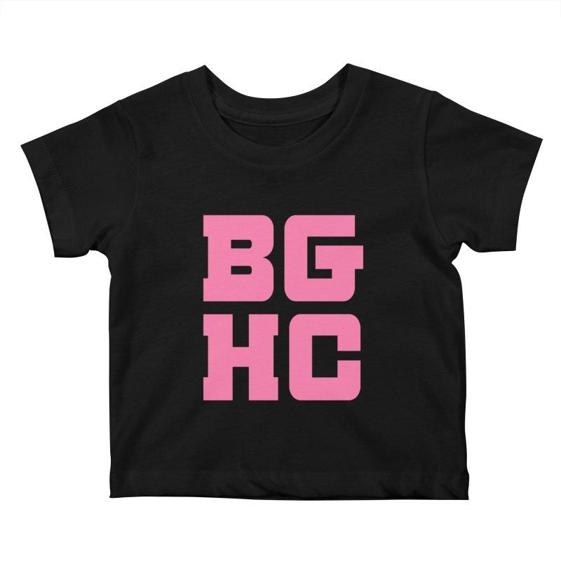 2020 BGHC abbreviated logo Kids Baby T-Shirt by Black Girl Hockey Club's Artist Shop