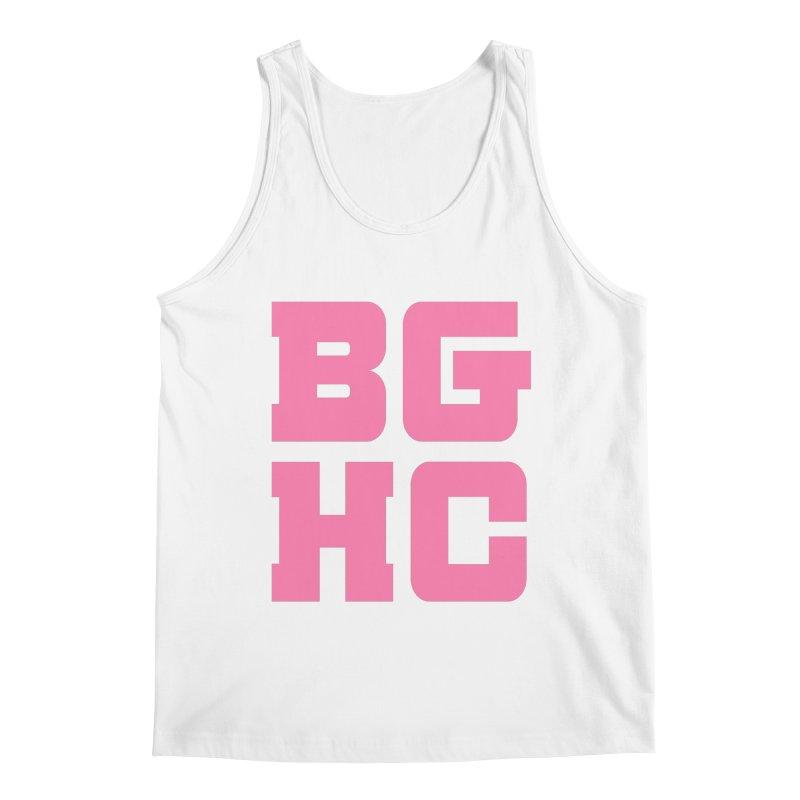 2020 BGHC abbreviated logo Men's Tank by Black Girl Hockey Club's Artist Shop