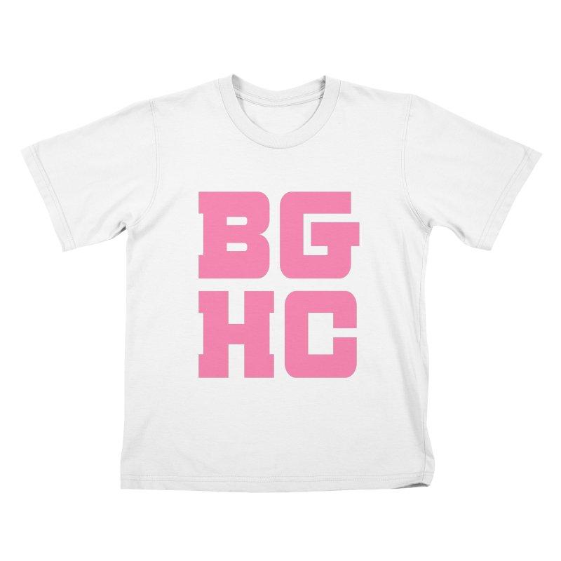 2020 BGHC abbreviated logo Kids T-Shirt by Black Girl Hockey Club's Artist Shop