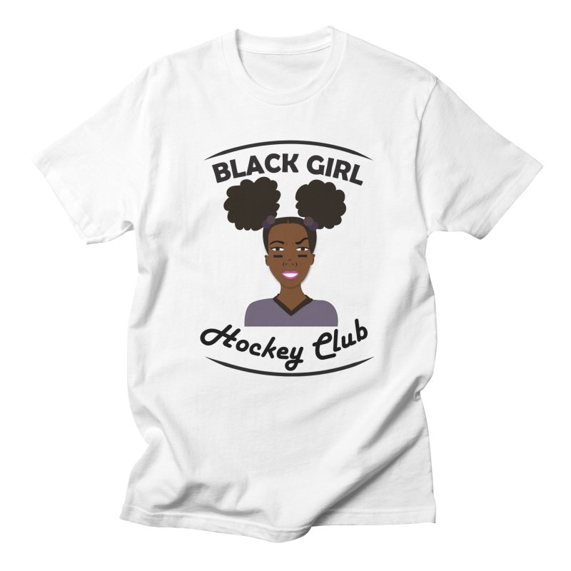 BGHC Official Logo Men's T-Shirt by Black Girl Hockey Club's Artist Shop