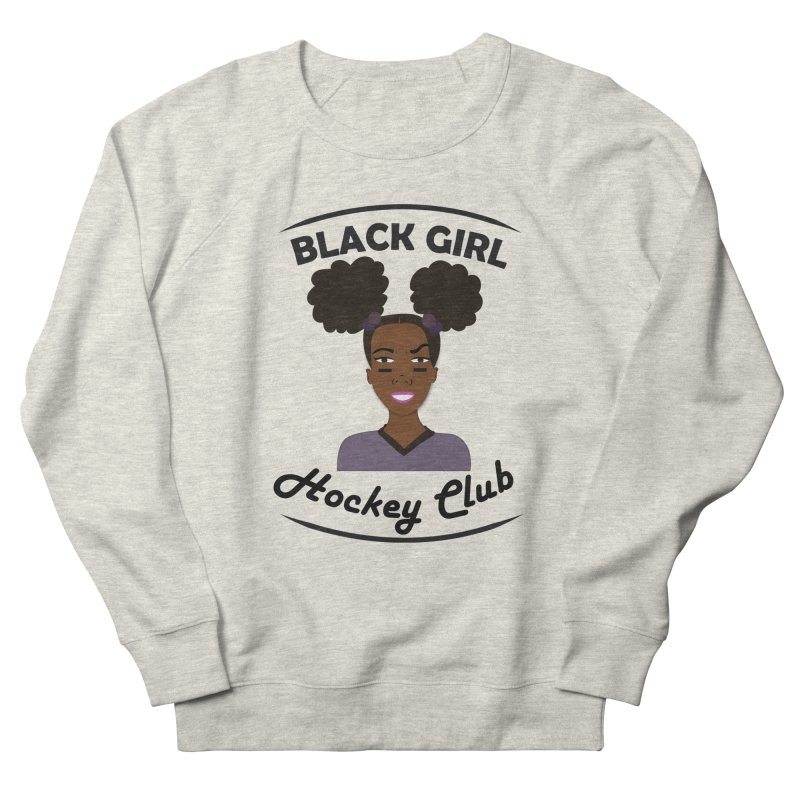 BGHC Official Logo Men's Sweatshirt by Black Girl Hockey Club's Artist Shop