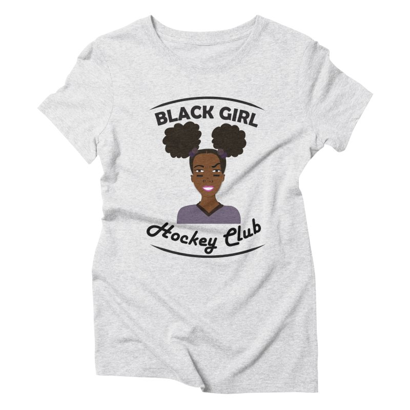 BGHC Official Logo Women's T-Shirt by Black Girl Hockey Club's Artist Shop