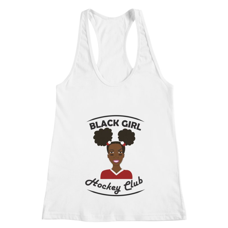 BGHC red/white Women's Tank by Black Girl Hockey Club's Artist Shop