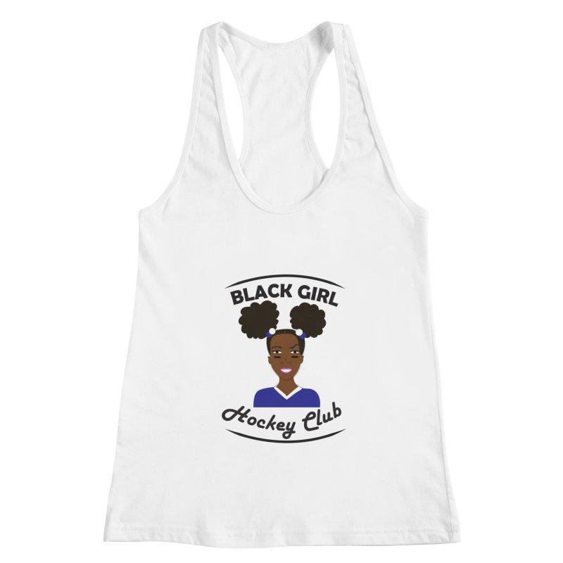 BGHC blue/white Women's Tank by Black Girl Hockey Club's Artist Shop