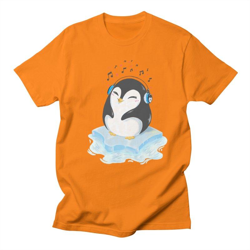 Penguin Women's Regular Unisex T-Shirt by Black and White Shop