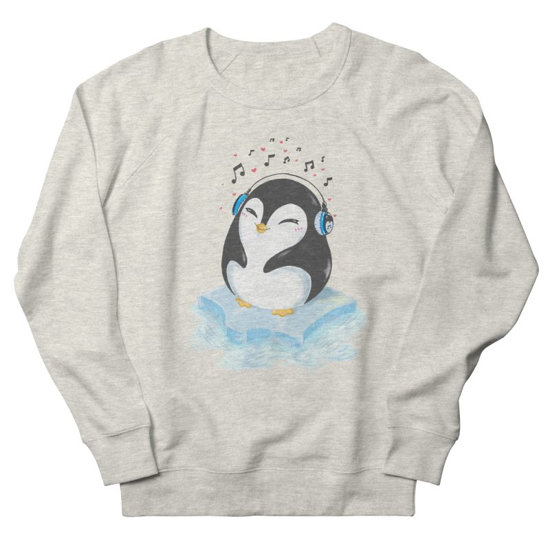Penguin Women's Sweatshirt by Black and White Shop