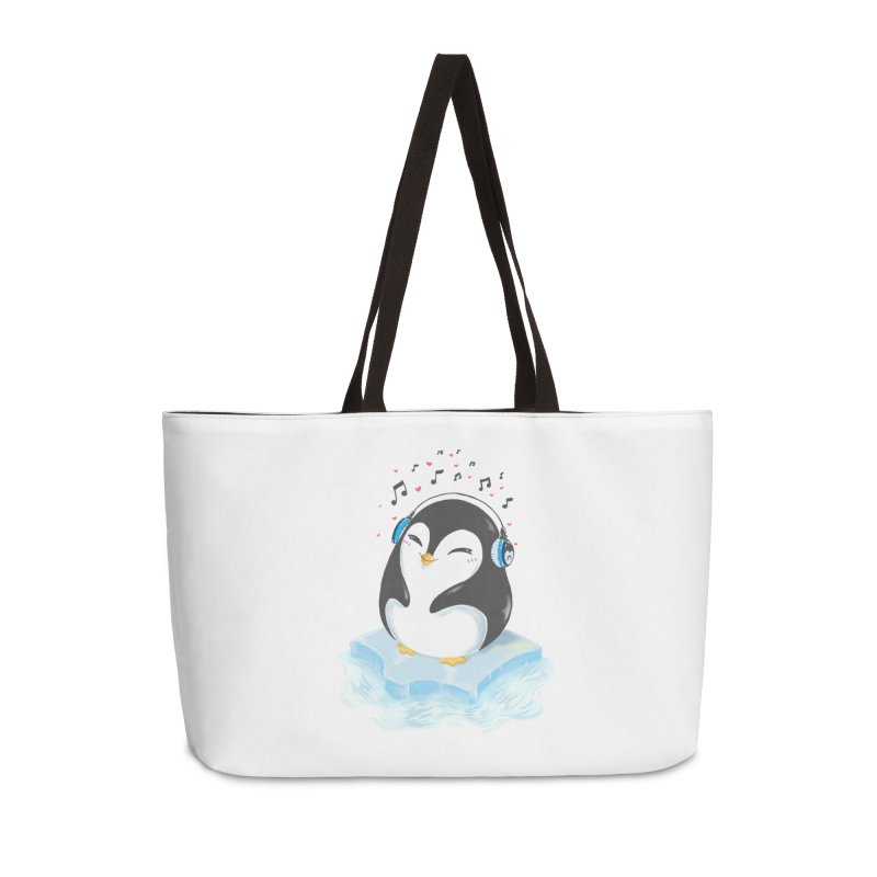 Penguin Accessories Weekender Bag Bag by Black and White Shop