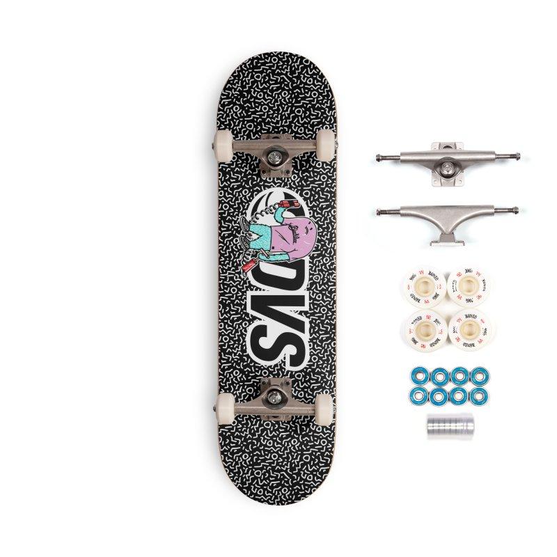 DVS + Blackillac - Skatebloard Accessories Complete - Premium Skateboard by Blackillac's Black Market