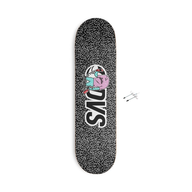 DVS + Blackillac - Skatebloard Accessories Skateboard by Blackillac's Black Market